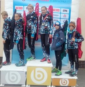 Šest medailí z MČR