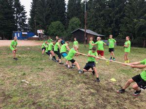 Letní sportovní soustředění